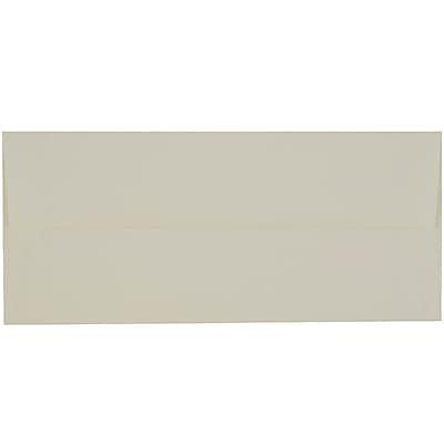 JAM Paper® #10 Business Envelopes, 4 1/8 x 9 1/2, Strathmore Natural White Laid, 1000/carton (70746B)