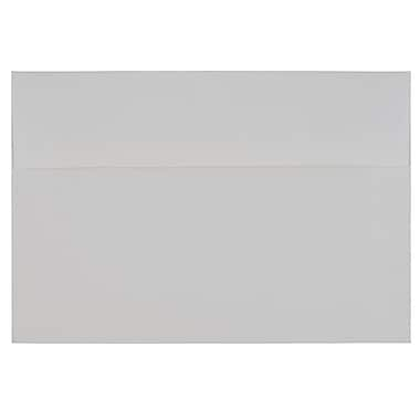 JAM PaperMD – Enveloppes Strathmore en papier vélin avec fermeture gommée, livret, 5 3/4 x 8 3/4 po, blanc brillant, paq./100