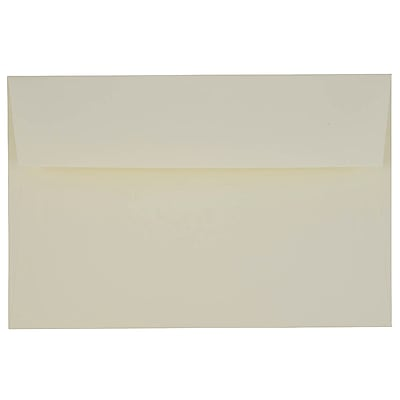 JAM Paper® A9 Invitation Envelopes, 5.75 x 8.75, Strathmore Natural White Wove, 250/box (31911141H)