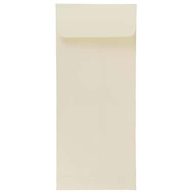 JAM Paper® #10 Policy Envelopes, 4 1/8 x 9.5, Strathmore Natural White Wove, 500/Pack (191249H)