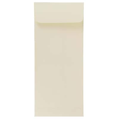 JAM Paper® #10 Policy Envelopes, 4 1/8 x 9 1/2, Strathmore Natural White Wove, 1000/carton (191249B)