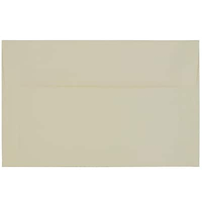 JAM Paper® A10 Invitation Envelopes, 6 x 9.5, Strathmore Natural White Laid, 250/box (23565H)