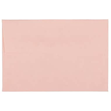 JAM Paper® 4bar A1 Envelopes, 3.63 x 5 1/8, Parchment Pink Recycled, 1000/Pack (123456B)