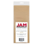 JAM Paper Tissue Paper, Tan Brown, 10 packs of 10 (1152350g)