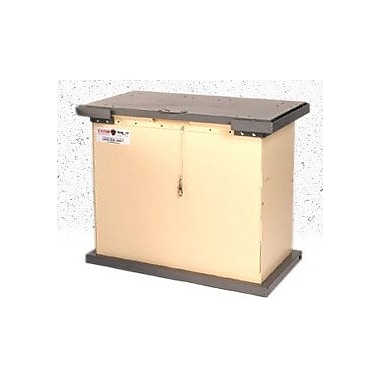 Tuffboxx Bruin 100 Gallon Green Galvanized Metal Animal Resistant Storage Container