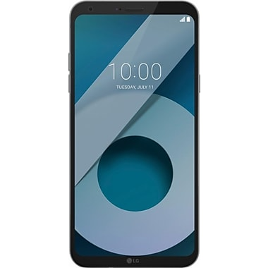 LG Q6 5.5-inch Unlocked Cell Phone, 32 GB, 1.4 GHz Qualcomm Snapdragon 435, Android 7.1.1 (Nougat), Platinum