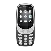 NOKIA 3310 3G 2.4-inch Unlocked Cell Phone, 64 MB RAM, 0.46 GHz, Feature Phone OS, Grey (A00028868)