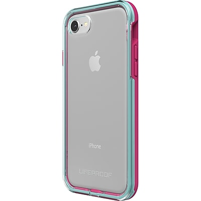 LifeProof iPhone 8 Case, Blue, Magenta and Clear (77-57406)