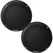 "Pyle®, 6 1/2"" 2-Way Dual-Cone Marine Speaker, 400 W, Black"