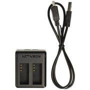 ACTIVEON Dual Battery Charger for CX/CX Gold, (ACA03TC)