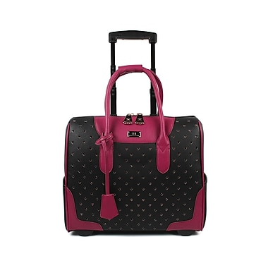 Karla Hanson® 50410 RFID Blocking Women s Carry-On Rolling Bag ... 711dd2efbf
