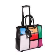 Karla Hanson 50718 RFID Blocking Women's Carry-On Rolling Bag