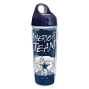 Tervis NFL Dallas Cowboys Statement 24 oz. Water Bottle with Lid (888633614555)