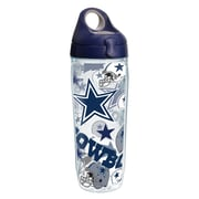Tervis NFL Dallas Cowboys All Over 24 oz. Water Bottle with Lid (888633590026)