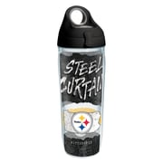 Tervis NFL Pittsburgh Steelers Statement 24 oz. Water Bottle with Lid (888633614975)