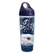 Tervis NFL New England Patriots Statement 24 oz. Water Bottle with Lid (888633615453)