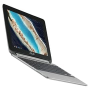 "ASUS® Chromebook Flip C101PA-DB02 10.1"" Chromebook, Rockchip RK3399, 16GB eMMC, 4GB, Chrome OS, ARM Mali-T860MP4"
