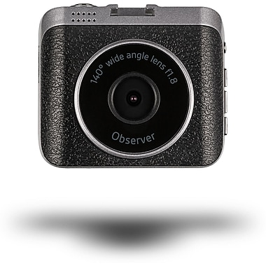 Kitvision Observer 720p Dashboard Camera for Cars and Motorbikes with 8 GB Storage, Black
