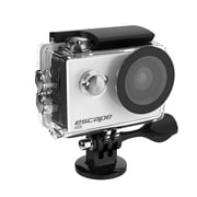 Kitvision Escape HD5 720p Waterproof Action Camera with Mounting Accessories, White