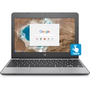 "Refurbished HP Chromebook, 11-v020nr, 11.6"", LCD 16:9 Touchscreen, Intel Celeron N3060 Dual-core (2 Core), 4GB, LPDDR3, 16GB"