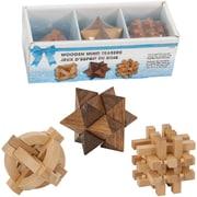 Merangue 3 Pieces Set Wooden Mind Teasers (8082-5172-00-000)