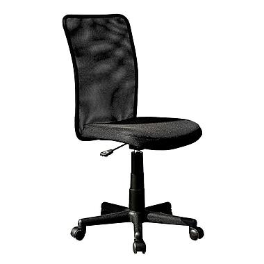 Techni Mobili – Chaise de bureau en maille, noir (RTA-9300B-BK)
