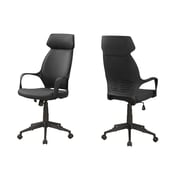 Monarch I 7249 Microfiber High Back Executive Office Chair Black