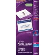 Avery® 74466 Garment Friendly Clip Style Name Badge Kit