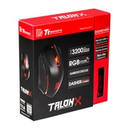 Thermaltake eSports – Combo d'équipement de jeu TALON X, souris avec tapis de souris