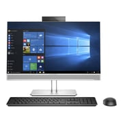 "HP Refurbished EliteOne 800G3 23.8"" All-in-One Computer, 3.4 GHz Core i5-7500, 256 GB SSD, 8 GB DDR4, Windows 10 Professional"