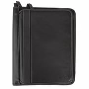 Roots® Deluxe 2 Way Zip Binder, Black