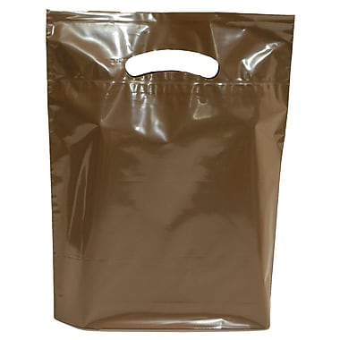 Marlo Packaging Espresso Brown D/C Bag, 500/Pack