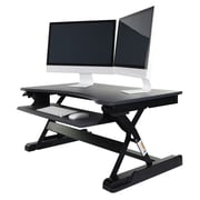 Luxor Level Up Premier Standing Desk Converter (LVLUP PREMIER-GY)