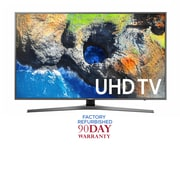 "Refurbished Samsung 55"" 4K LED Smart TV (UN55MU7000)"