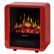 Dimplex dmcs13r Mini Cube Electric Stove, Gloss Red