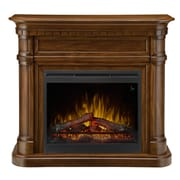 Dimplex gds26l5-1805bw Charleston Mantel Electric Fireplace, Burnished Walnut