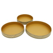 Cathay Importers Seagrass and Paper Round Tray