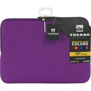 "Tucano Colore 13"" & 14"" Notebook Second Skin Case in Neoprene, Purple (BFC1314-PP)"