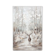 Deer In The Forest Oil Painting (2009-AM5886-00)