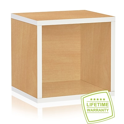Way Basics Eco Stackable Connect Open Storage Cube and Cubby Organizer, Limited Edition - Lifetime Guarantee