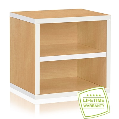 Way Basics Eco Stackable Connect Storage Cube with Shelf, Limited Edition - Lifetime Guarantee