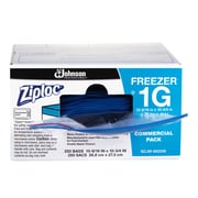 Ziploc Professional Freezer Bags, 1 Gallon, 250/Box (SCJ71377)