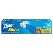 Ziploc Large Heavy-Duty Freezer Bags, 10/Pack (SCJ00970)