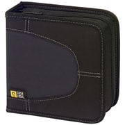 Case Logic Nylon 32 Discs Black Wallet For CD/DVD Discs (CDW-32)