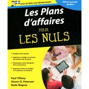 Les Plans D'Affaires Pour Les Nuls, French Only (381966)