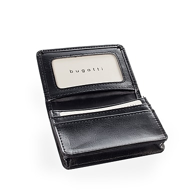 Bugatti synthetic leather business card case black bcc5000s black bugatti synthetic leather business card case black bcc5000s black colourmoves