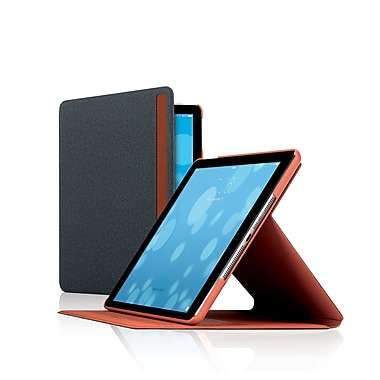 Solo Austin Slim Grey and Orange iPad Protective Case, 10.5
