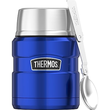 Thermos Stainless King Food Jar, 470ml, Royal Blue (SK3000BLTRI4)