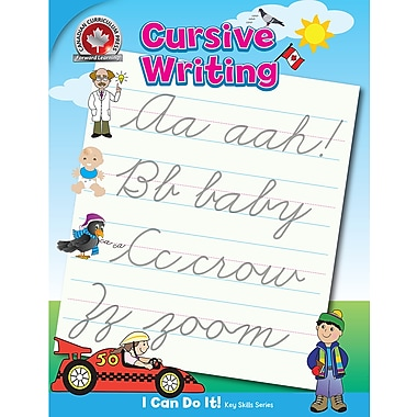 Canadian Curriculum Press Cursive Writing Workbook | Staples