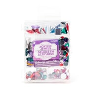 Horizon Group USA Jewel Tones Acrylic Jewels Value Pack, 304/Pack (63649)